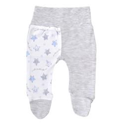 Półśpiochy niemowlęce gwiazdki błękitno-szare