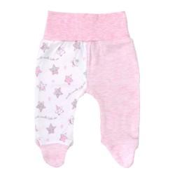 Półśpiochy niemowlęce gwiazdki różowe
