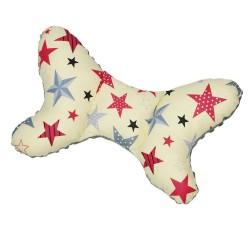 """Motylek poduszka stabilizująca/antywstrząsowa """"Gwiazdy na kremowym"""""""