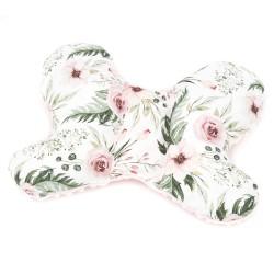 """Motylek poduszka stabilizująca/antywstrząsowa """"Wild blossom"""" + minky"""