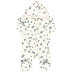 Kombinezon, pajac niemowlęcy z bawełny organicznej