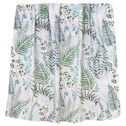"Otulacz bambusowy, swaddling blanket ""Paprocie"""