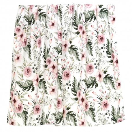 "Otulacz bambusowy, swaddling blanket ""Wild blossom"""